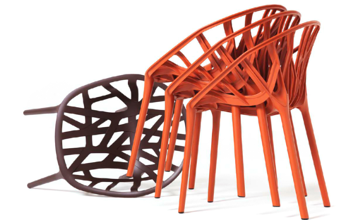 Vegetal Stacking Chair Hivemoderncom