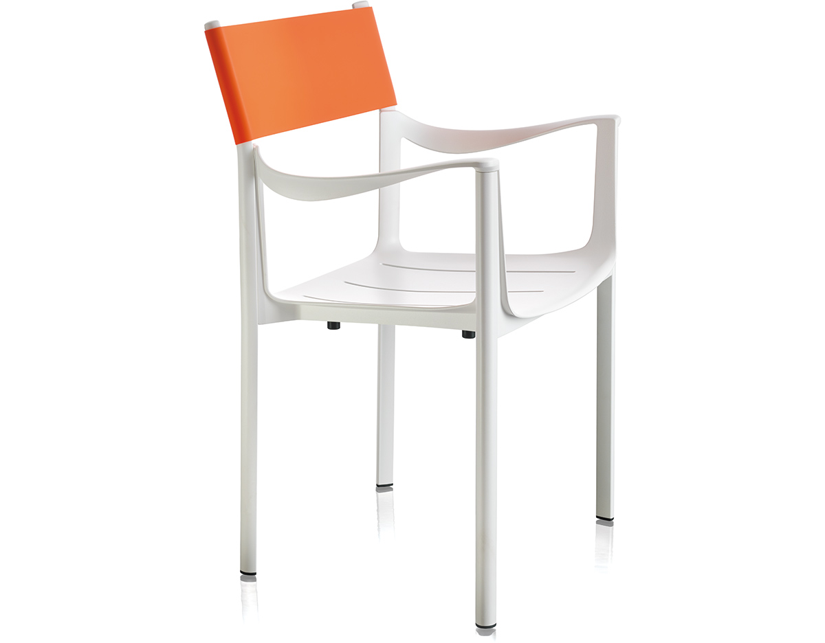 Magis venice stacking chair two pack for Chair one grcic