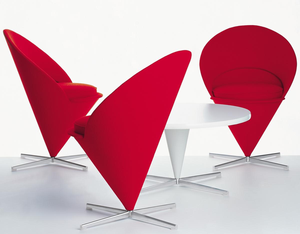 Verner Panton Cone Chair Hivemodern Com