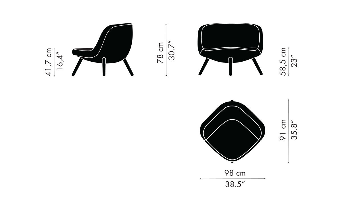 Via57 Lounge Chair Hivemodern Com