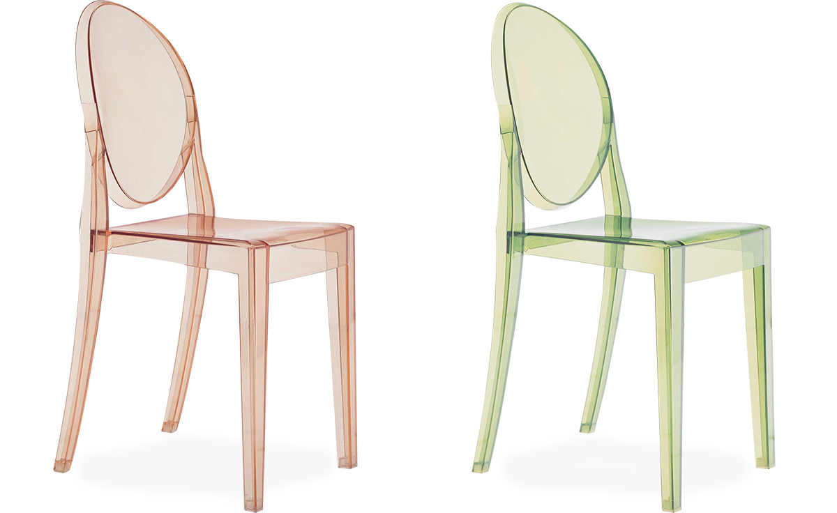 Victoria Ghost Side Chair 2 Pack - hivemodern.com
