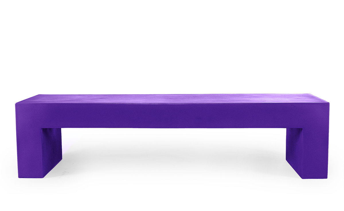 bench model garden from b benches big product vignelli gallery heller purple by en