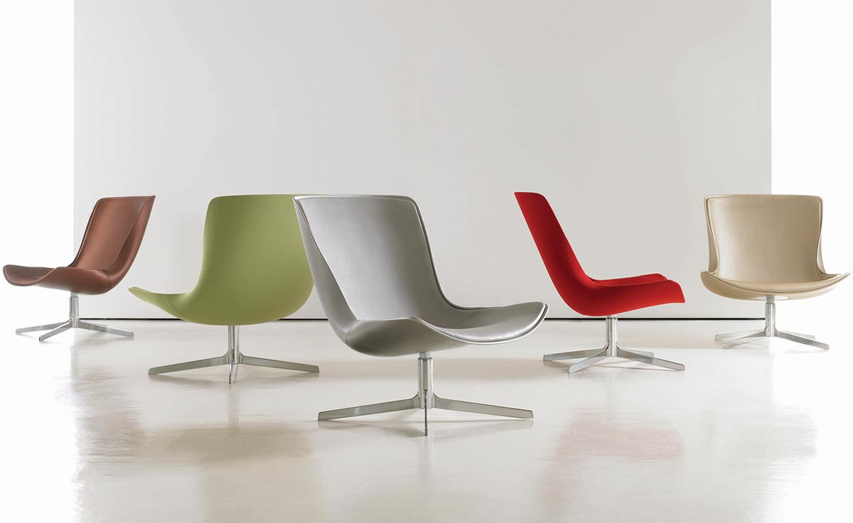 Vika Fully Upholstered Lounge Chair Hivemodern Com