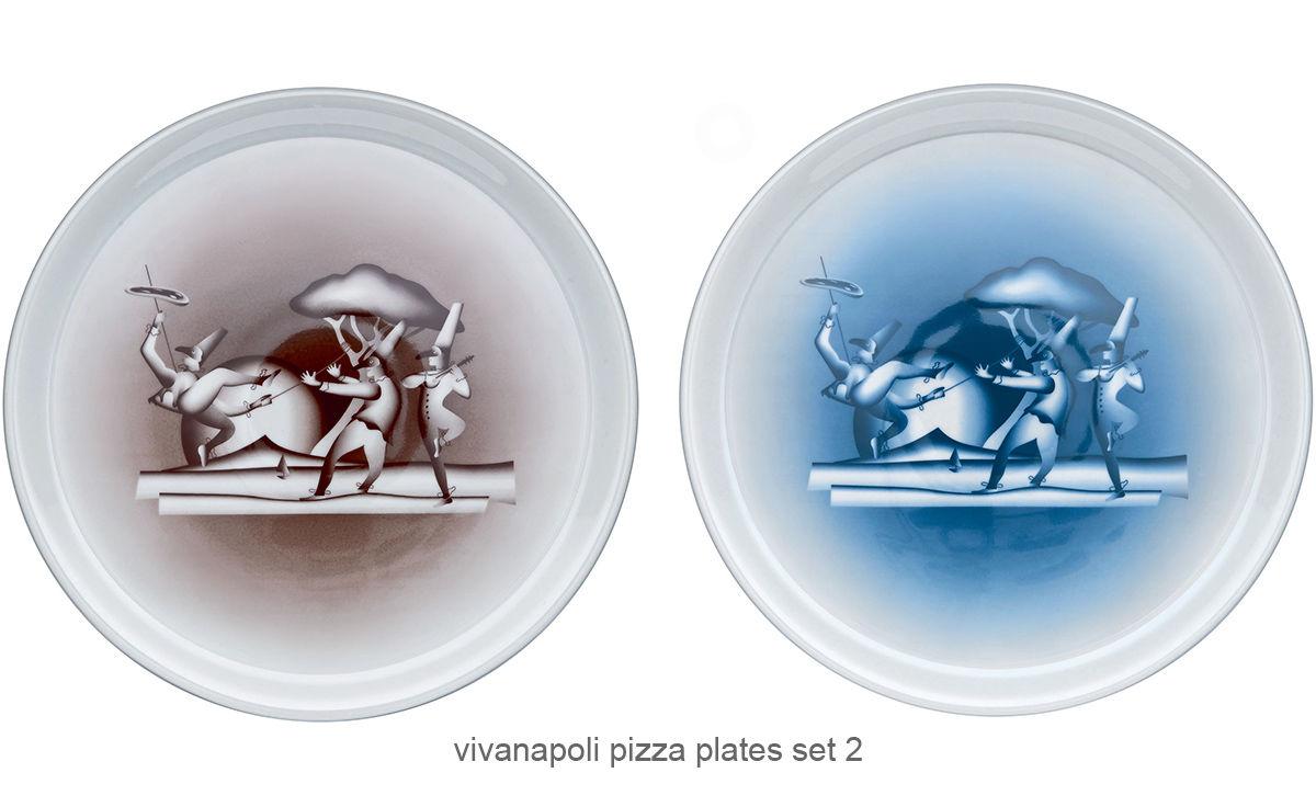 Vivanapoli Pizza Plate Set 2 Pack  sc 1 st  Hive Modern & Vivanapoli Pizza Plate Set 2 Pack - hivemodern.com
