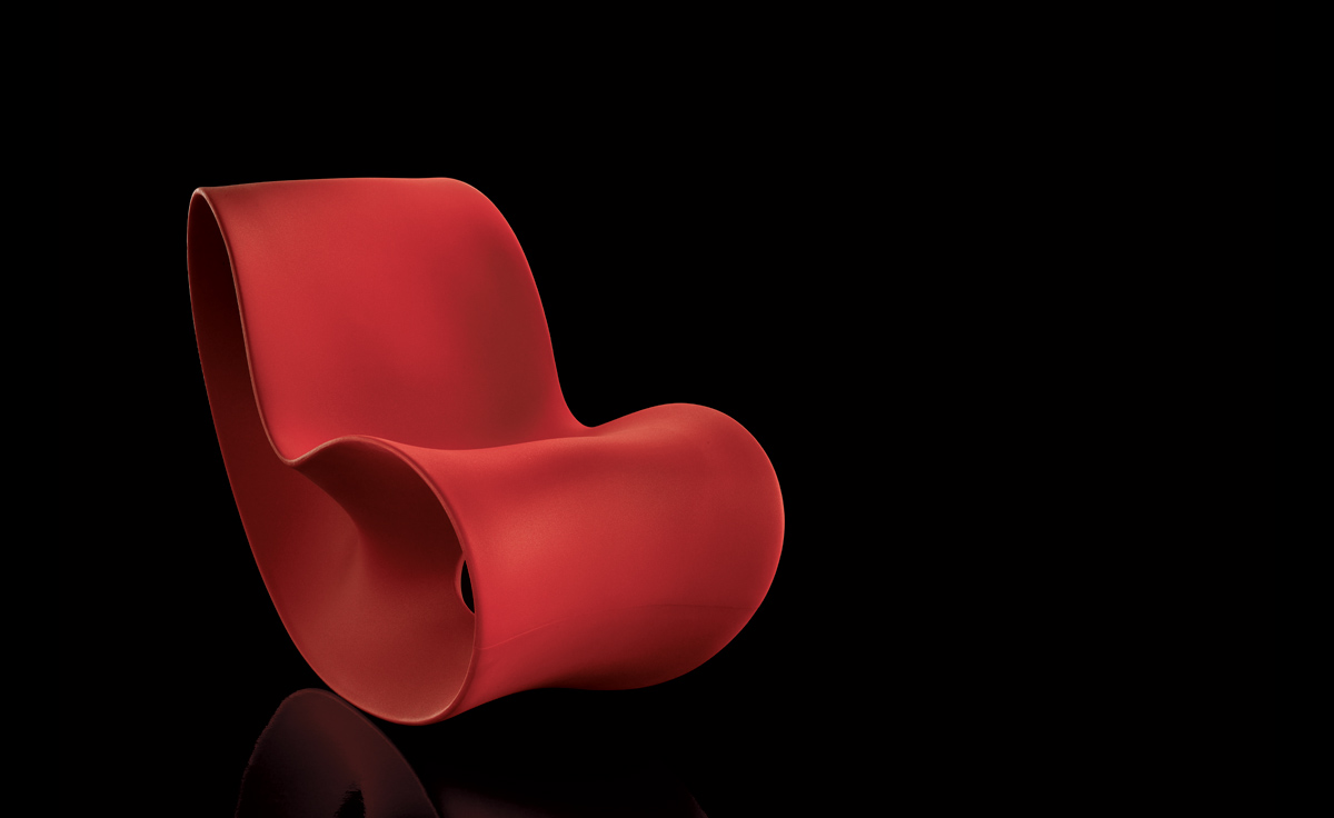 Voido Rocking Chair Hivemodern Com