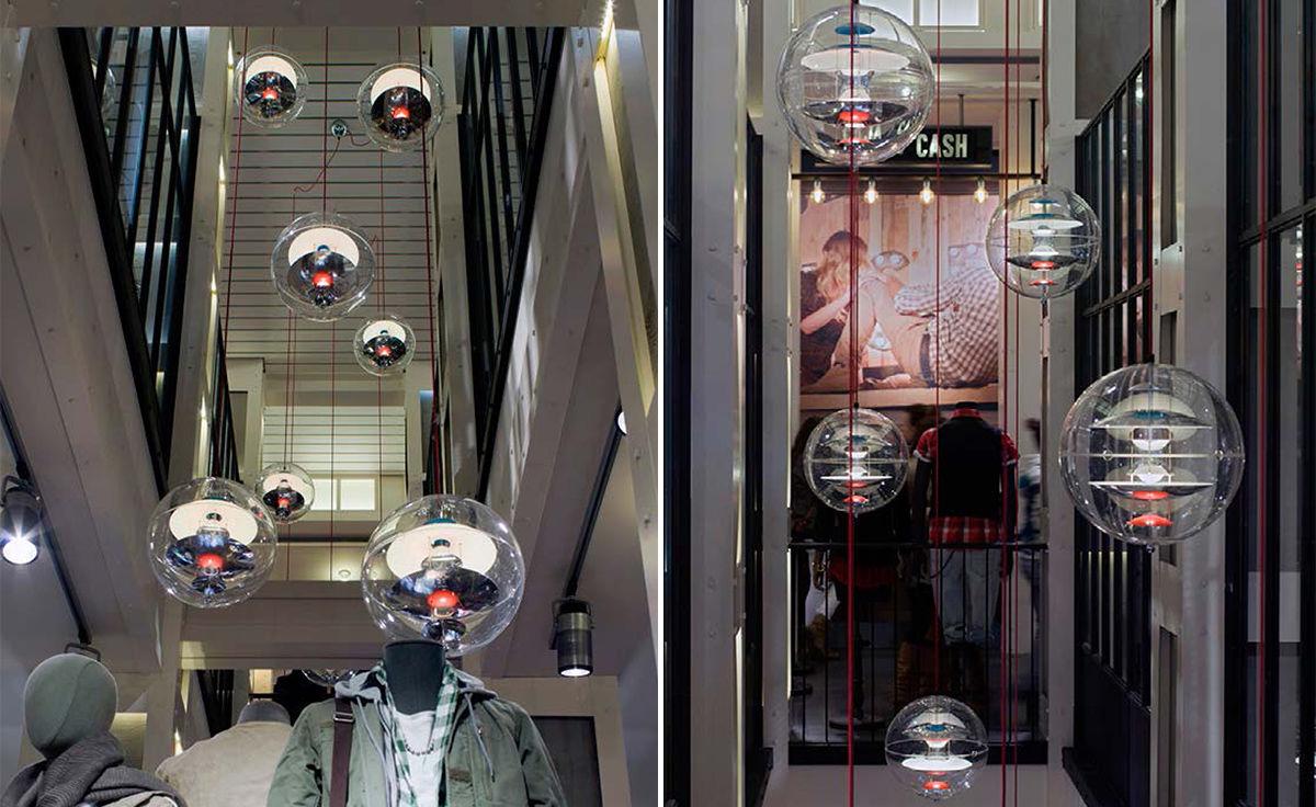 Verner Panton Vp Globe Suspension Lamp Hivemodern Com