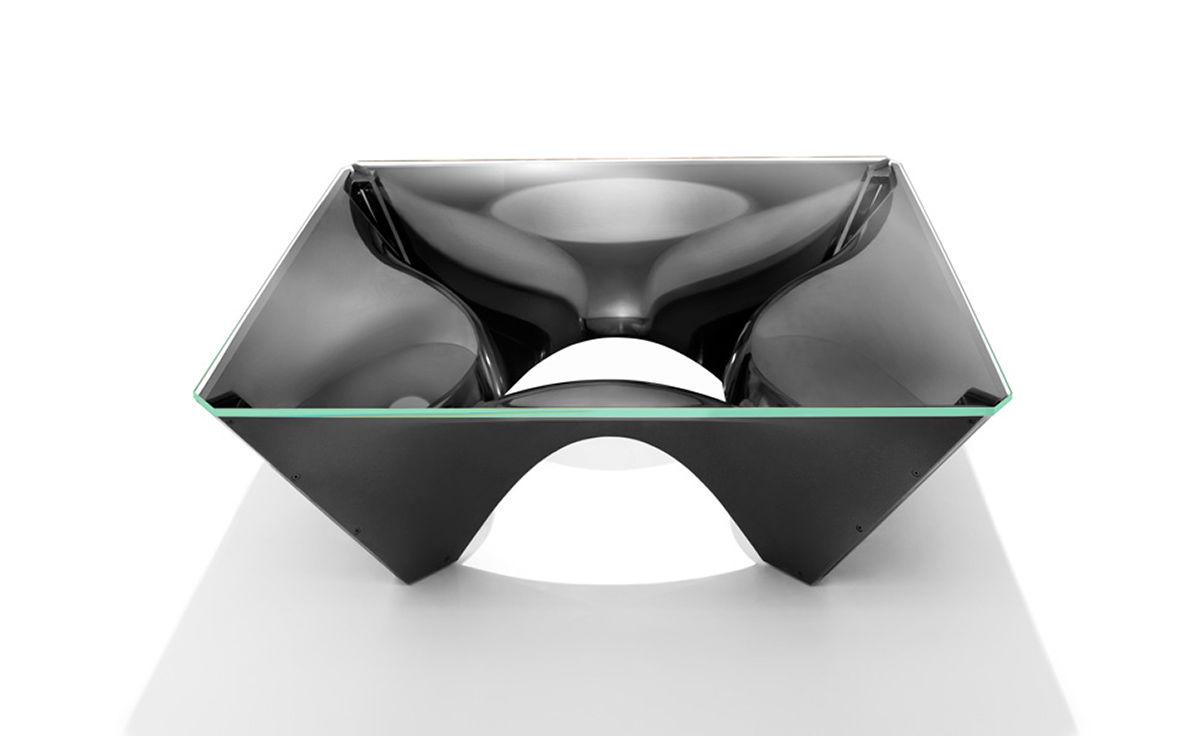 overview; manufacturer; media; reviews - Washington Corona™ Aluminum Coffee Table - Hivemodern.com