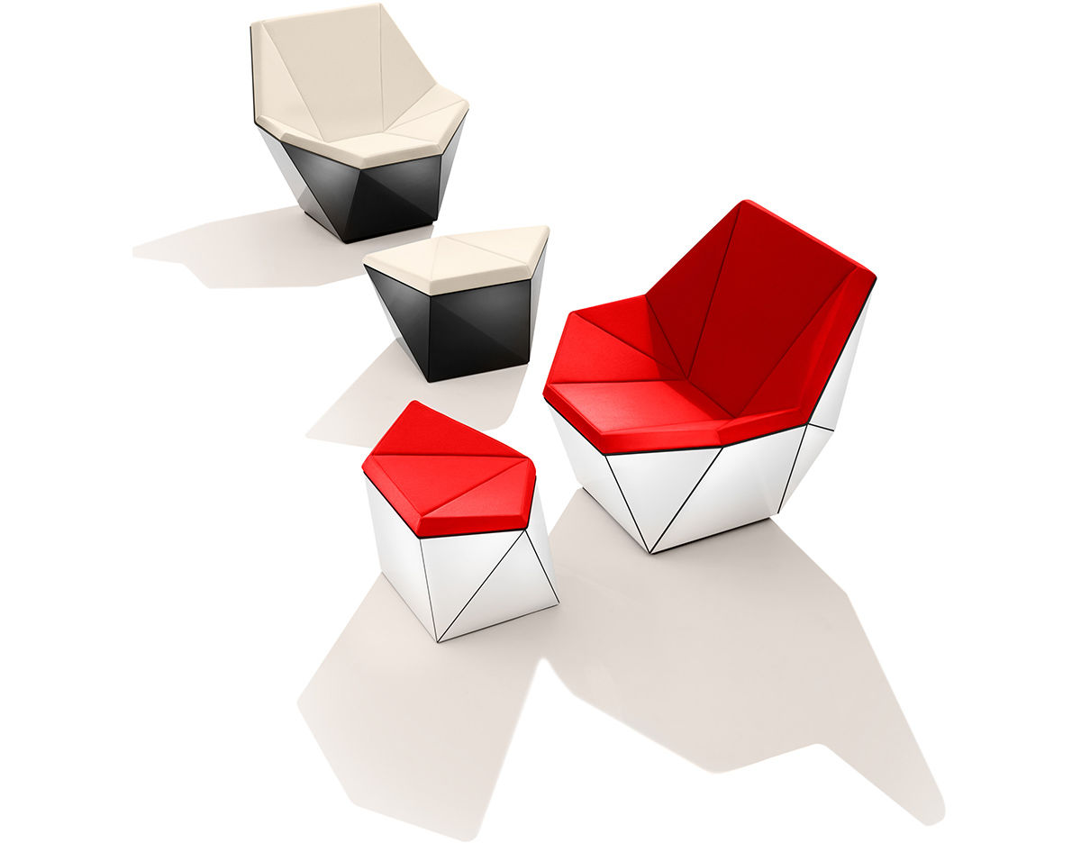 Washington Prism Lounge Chair Hivemodern Com