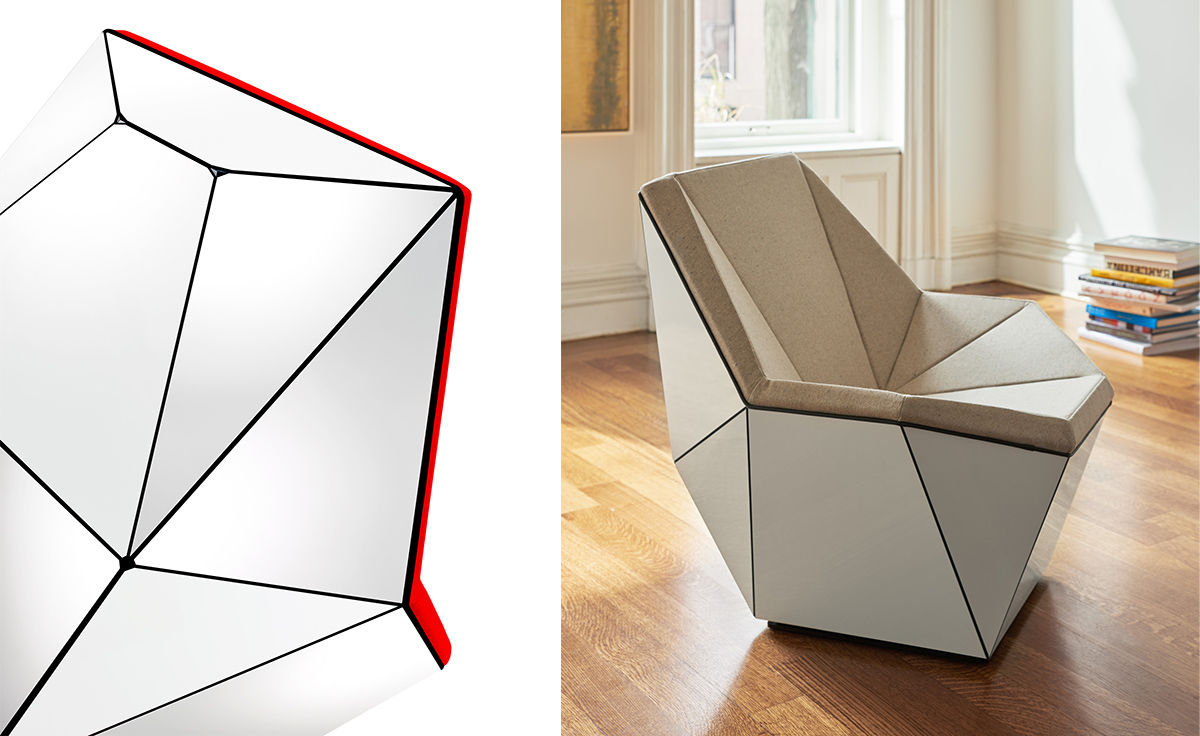 Charmant Washington Prism™ Lounge Chair
