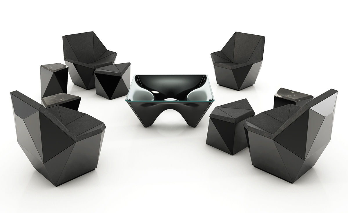 Washington Prism Lounge Chair Hivemodern Com