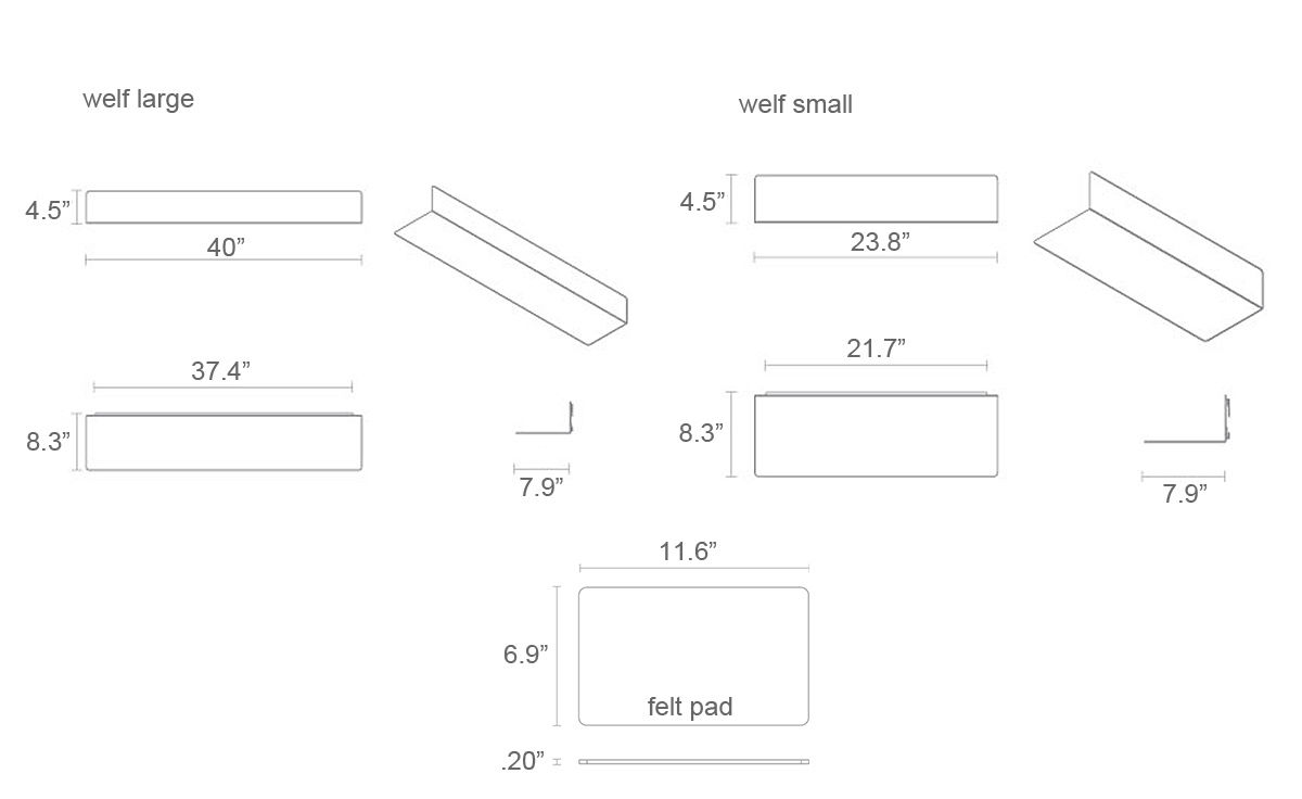 Welf large wall shelf hivemodern welf large wall shelf ccuart Image collections