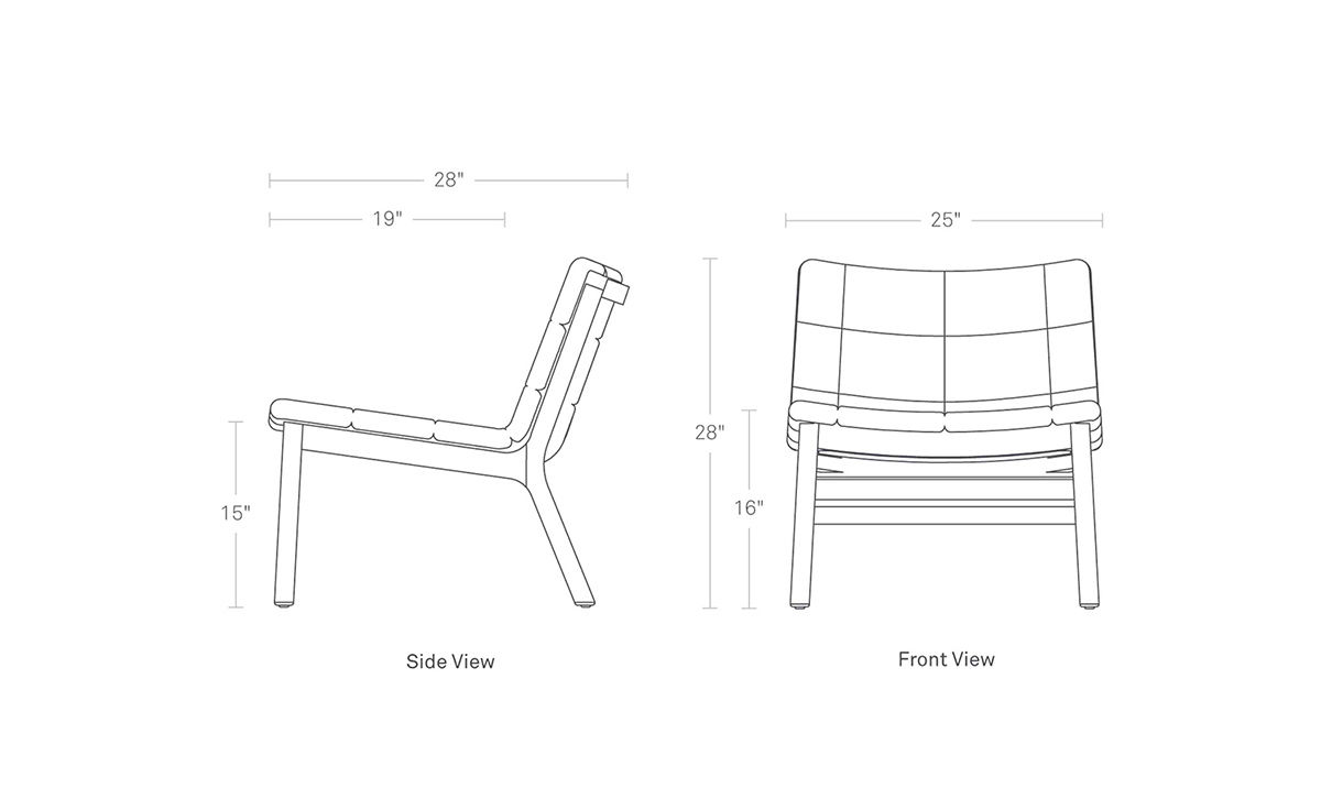 Wicket Lounge Chair Hivemodern Com