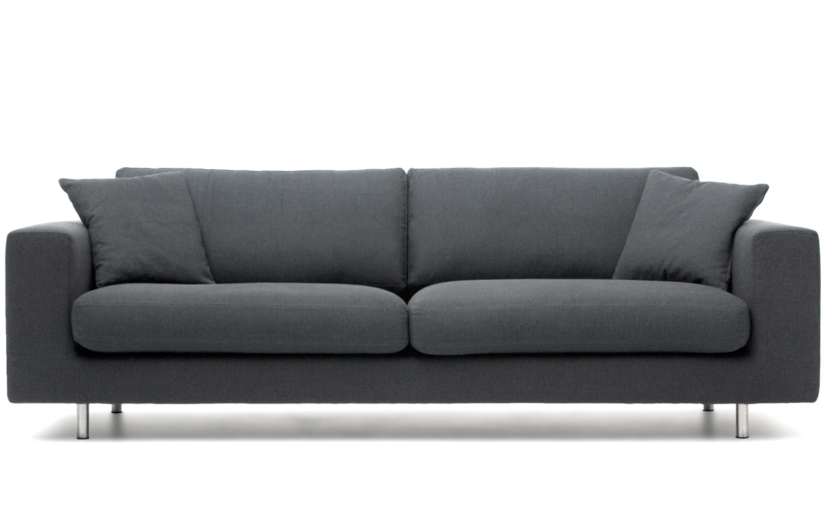 Wide arm 3 seat sofa Designer loveseats