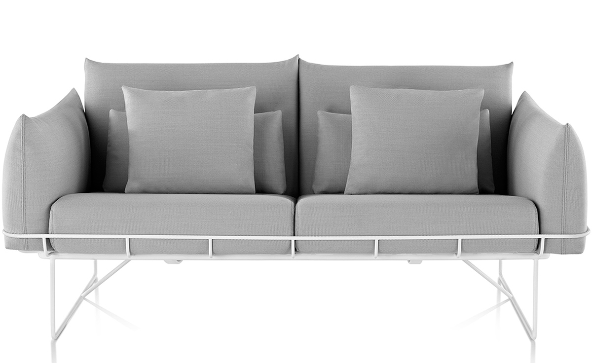 Wireframe 2 Seat Sofa