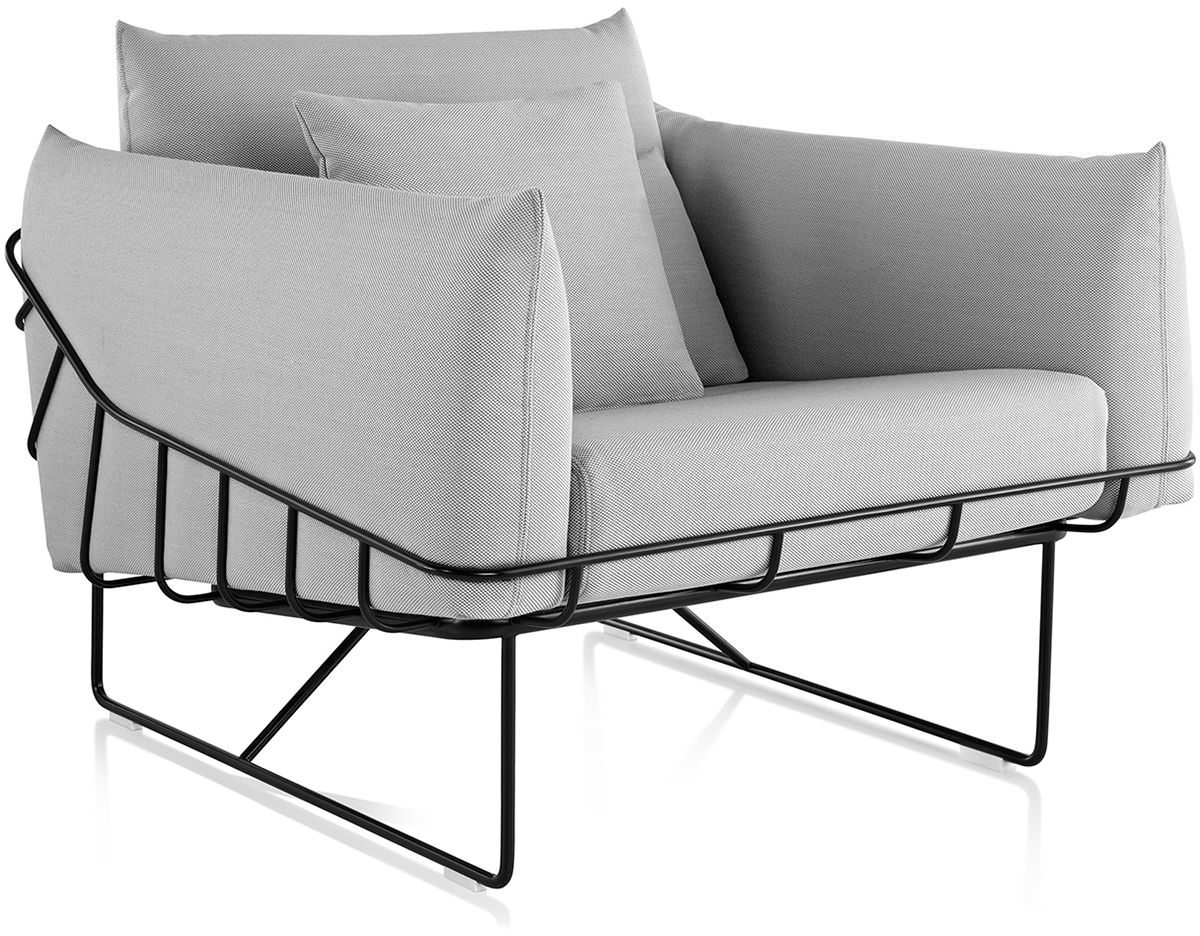 Wonderful Wireframe Lounge Chair