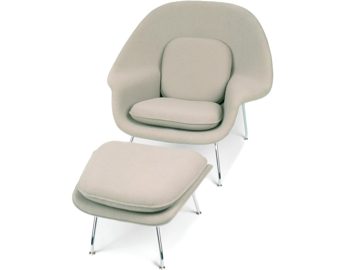 Womb Chair amp Ottoman hivemoderncom : womb chair ottoman eero saarinen knoll 2 from hivemodern.com size 1200 x 936 jpeg 128kB
