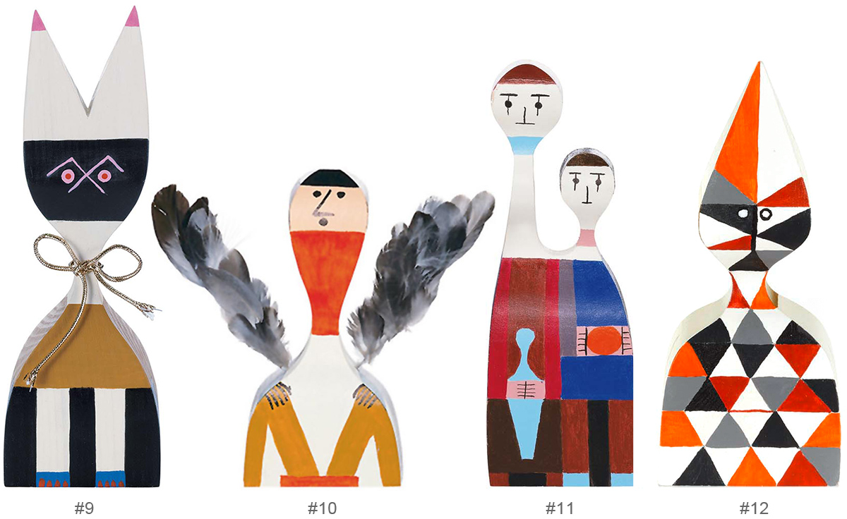 Wooden Dolls By Alexander Girard Hivemodern Com
