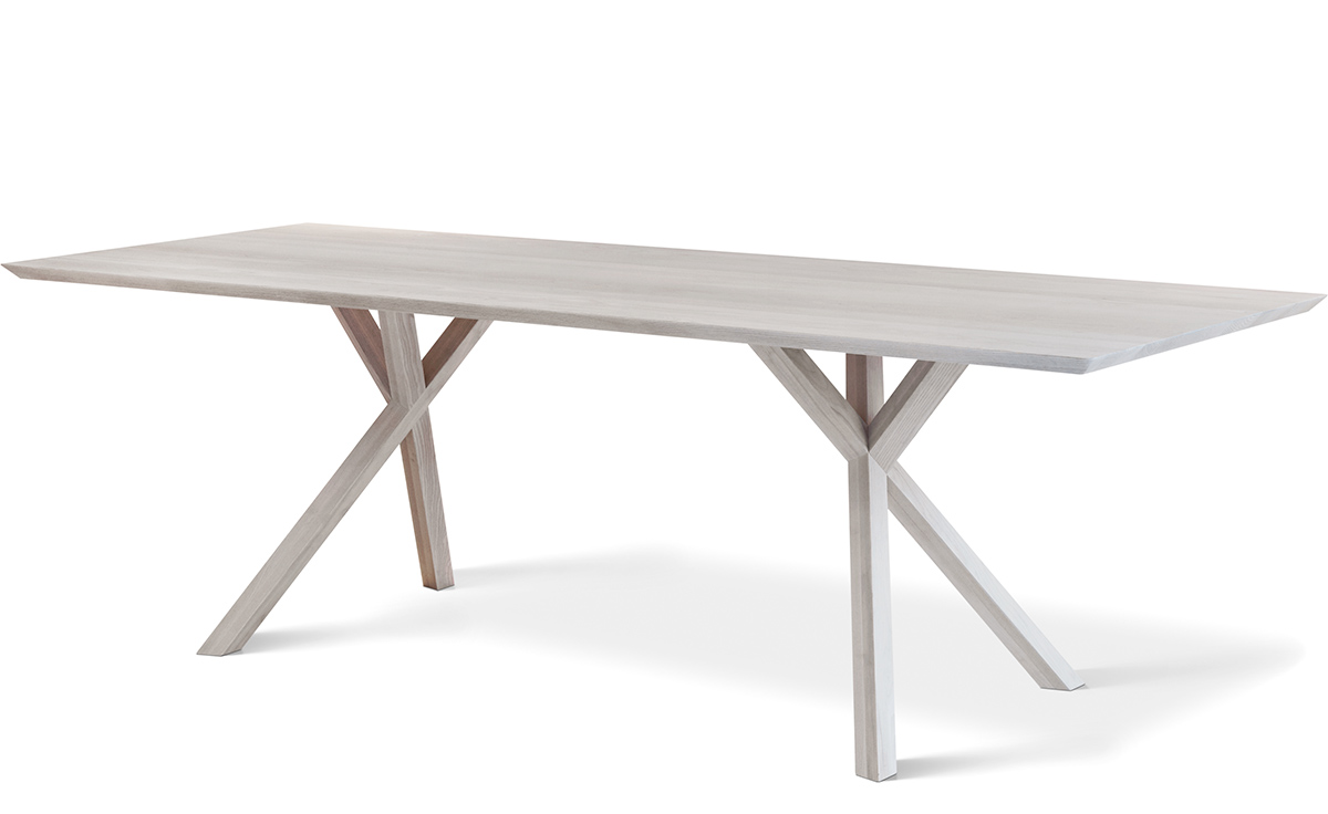 White Rectangle Dining Table Stocktonandco