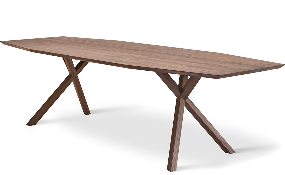 xy trapezium dining table On xy table design