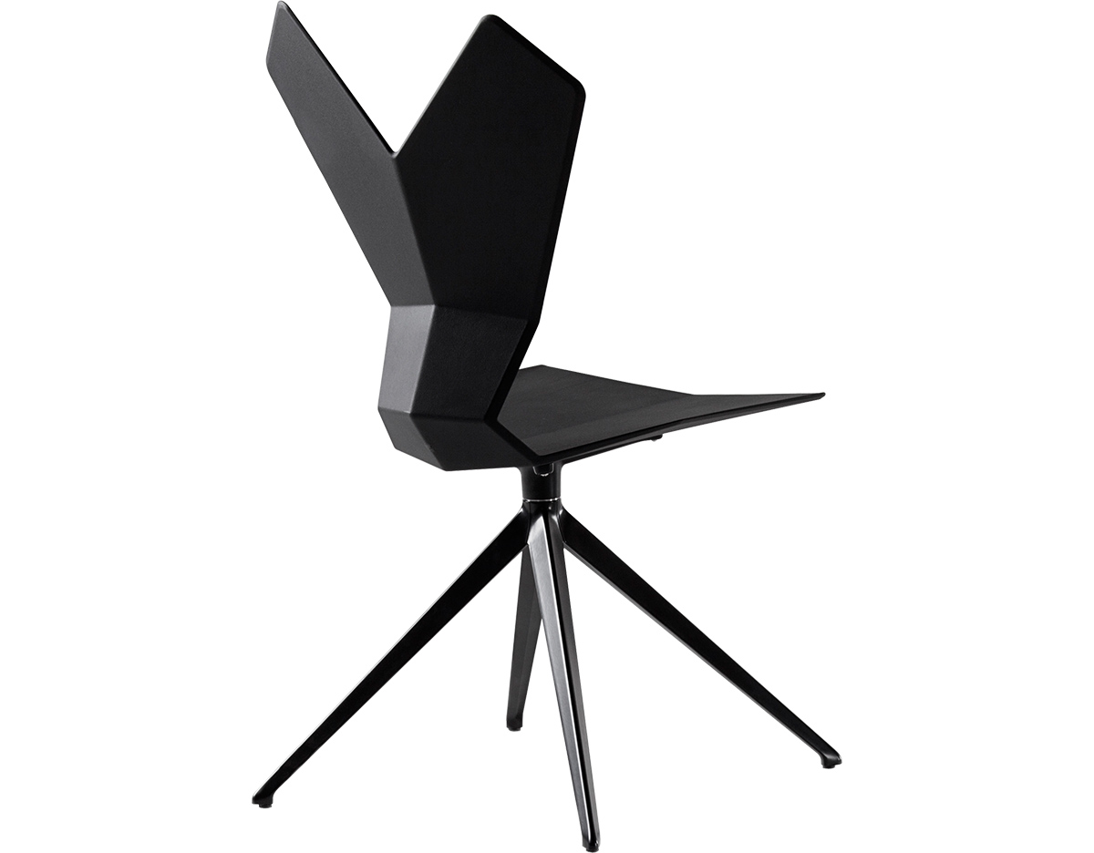 Gentil Y Chair With Swivel Base