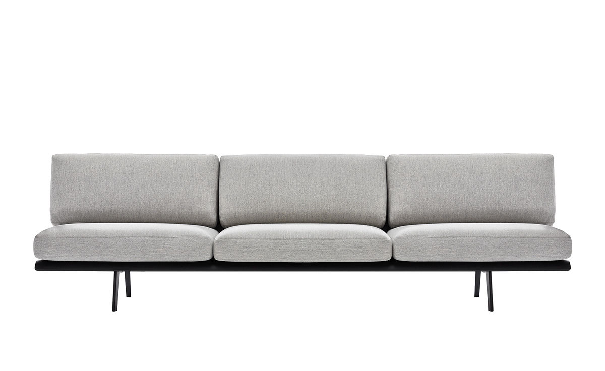 Lounge sofa  Zinta 3 Seat Lounge Sofa 4404 - hivemodern.com