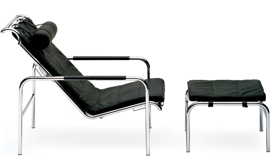 genni lounge chair & ottoman