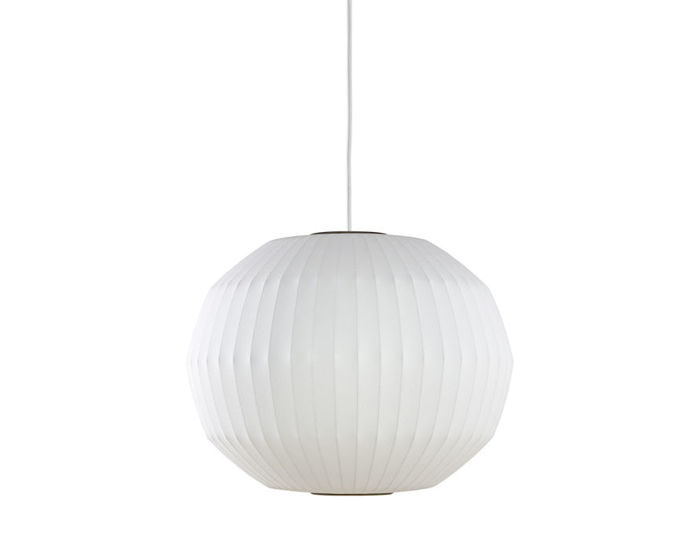 nelson™ bubble lamp angled sphere