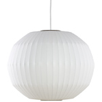 nelson bubble lamp angled sphere - George Nelson - Herman Miller
