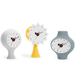 george nelson ceramic clocks  -