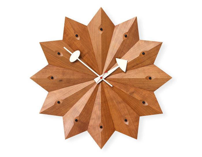george nelson fan clock