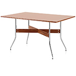 nelson™ swag leg rectangular dining table  -