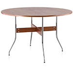nelson™ swag leg round dining table  -