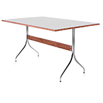 nelson™ swag leg rectangular work table  -