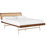 nelson thin edge bed with h frame - George Nelson - Herman Miller