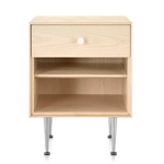 nelson thin edge bedside table  -