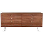 nelson thin edge double dresser - George Nelson - Herman Miller