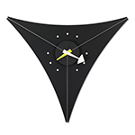 george nelson triangle wall clock  -