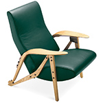 carlo mollino gilda lounge chair  -