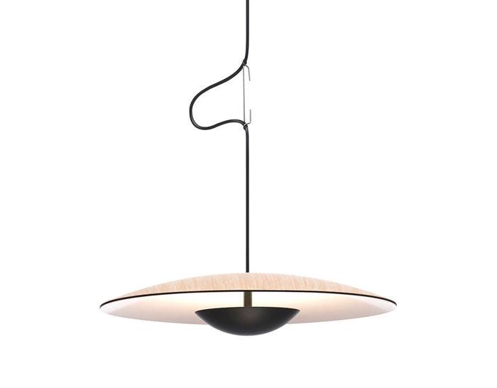 led-ginger suspension lamp
