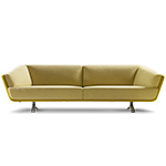 gino 3.5 seat sofa  - Montis