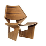 grete jalk gj bow chair  -