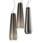 glass drop suspension lamp  - foscarini