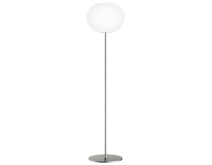 Glo ball floor lamp hivemodern glo ball floor lamp mozeypictures Images