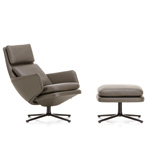 grand relax lounge chair and ottoman - Antonio Citterio - vitra.