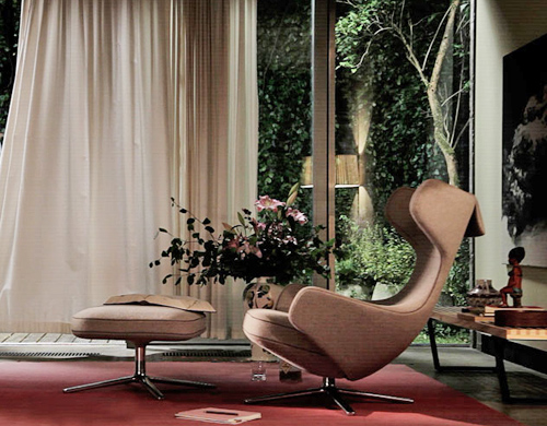 Grand Repos Lounge Chair Hivemodern Com