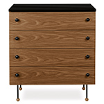 greta grossman series 62 four drawer dresser  -