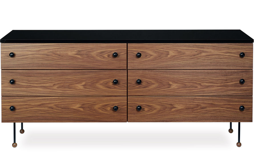 greta grossman series 62 six drawer dresser