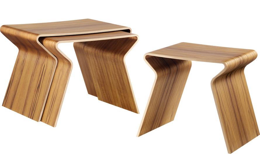 grete jalk gj nesting tables