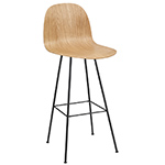 gubi 2d center base bar chair  -