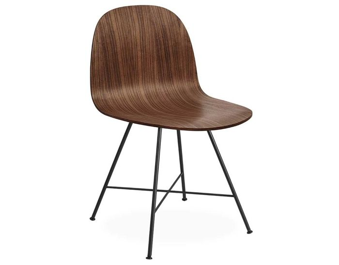 gubi 2d center base dining chair